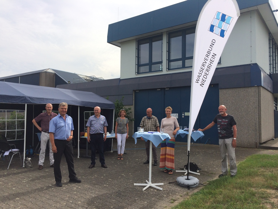 Besuch beim Wasserverbund Niederrhein